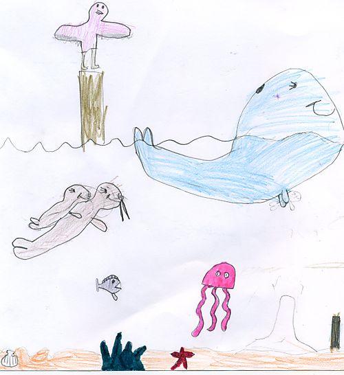 Aislin under the sea